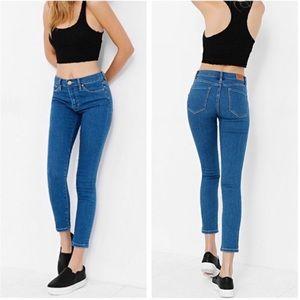 BDG UO Blue High Rise Twig Grazer Jeans| 29x26